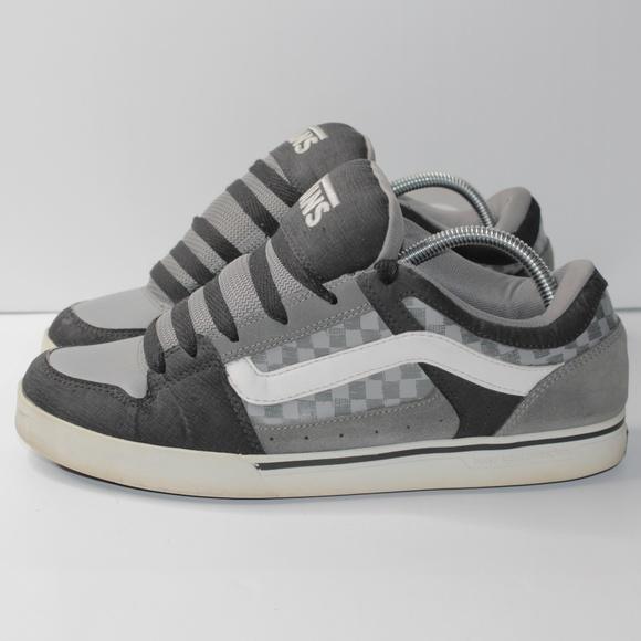 RARE Vans Chunky Skate Shoes Gray / Black 9.5